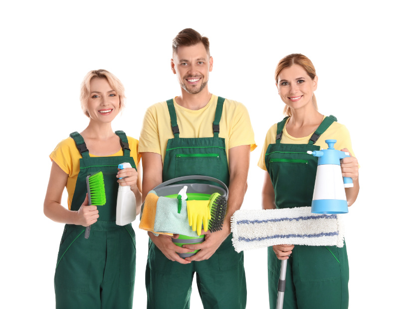 Strata cleaning team